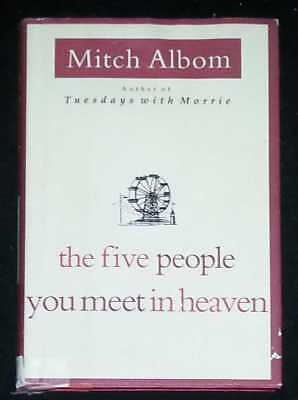 The Five People You Meet In Heaven by Mitch Albom (Hardcover)