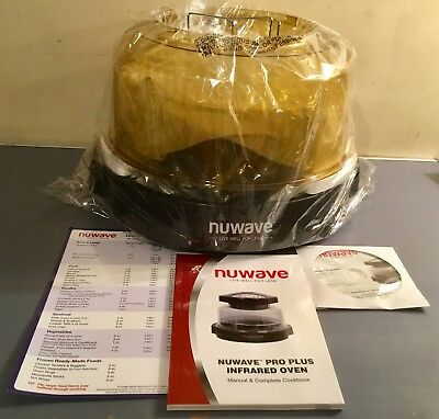 Nuwave Oven Pro Model# 20601-Nuwave Pro Plus Infrared Oven New Opened Box