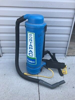 Castex Portapac Backpack Vacuum Model BP1500, 7.5 Amps