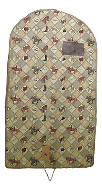 Tapestry Horse Equestrian Sport Garment Bag - Clothes Storage