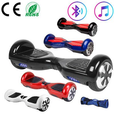 """Hoverboard 6.5"""" Self-Balancing Electric Scooter Balance Board 700W Bluetooth+Bag"""