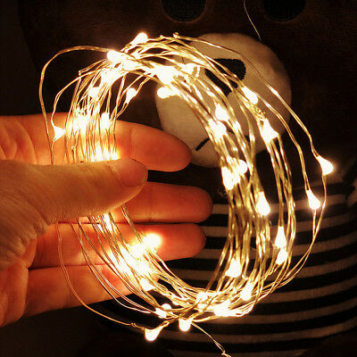1M 2M 3M 5M 10M Copper Wire LED String lights Holiday lighting Fairy Garland Lot