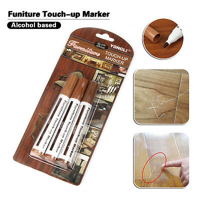 3 Shades Furniture Scratch Marker Touch Up Pen Laminate Wood Floor Marks Repair