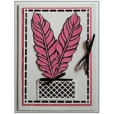 Frame Design Metal Cutting Die For DIY Scrapbooking Album Paper Cards A_S