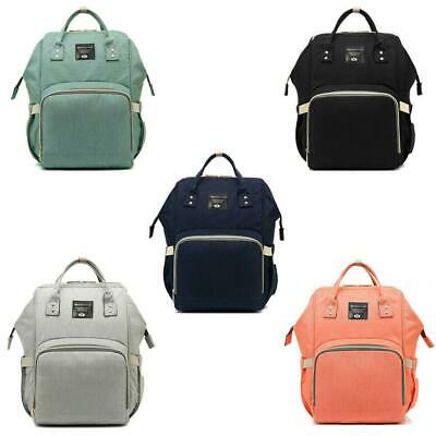 Multifunctional Baby Nappy Backpack Diaper Changing Bag Mummy Backpack Mommy Bag