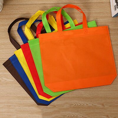 Eco-friendly Reusable Shopping Bag Women Shoulder Tote Non-woven Grocery Large