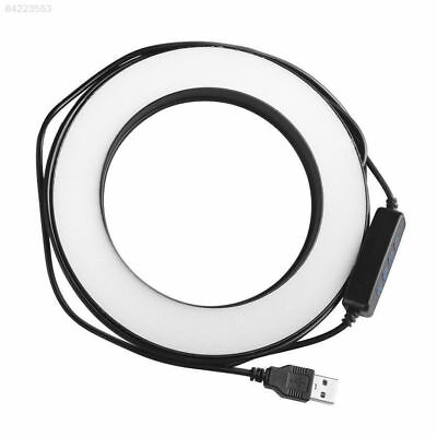 """12A8 6"""" 5500K Dimmable Diva LED Ring Light Diffuser MIRROR Stand Make Up Studio"""