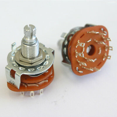 5 Position Rotary Switch For Varitone Style Circuits. Guitar or Bass E70