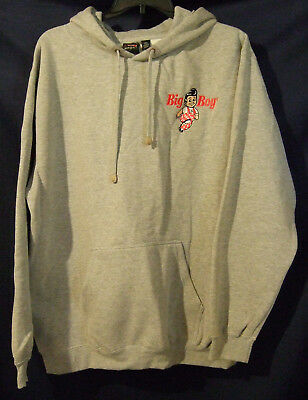 Heavy Weight Big Boy Pullover Sweatshirt  in Gray with Embroidered Logo