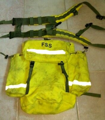 US Forest Service FSS Main Pack and Unisex Harness Yellow