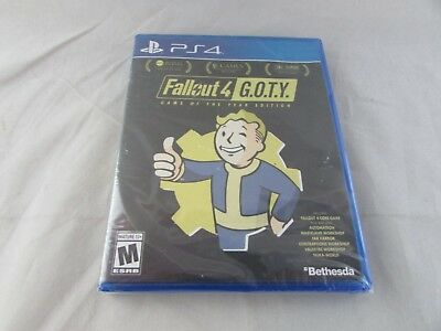 Fallout 4 - Game of the Year Edition for PlayStation 4 PS4 - Brand New, Sealed