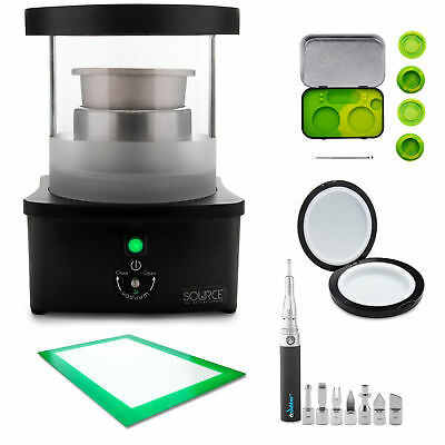 Source Turbo by ExtractCraft Botanical Extractor Pro Handling and Storage Kit