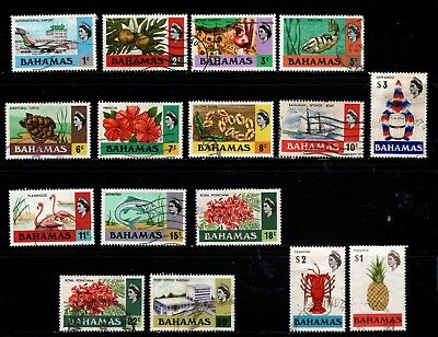 Item No. A6200 – Bahamas – Scott # 313-315, 317-322, 320-330 – Used
