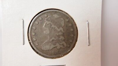1835 25C Capped Bust #521