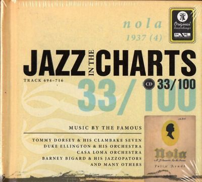 CD Musik - Jazz in the Charts 33/100 - Music by the Famous