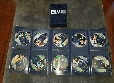 Lights Camera Elvis Collection (DVD, 2013, 8-Disc Set) Presley Box set