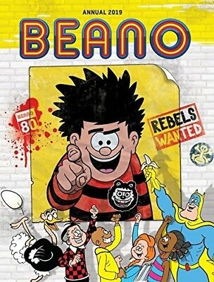 Beano Annual 2019 Dennis Gnasher Comic Stories Book Hardcover – 6 July 2018