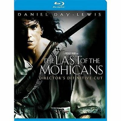 The Last of the Mohicans (Blu-ray Disc, 2010) BRAND NEW WITH SLIPCOVER