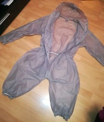 Adult Baby Strampler Overall Catsuit LACK PVC SCHLAFANZUG BODY TRANSPARENT XXL