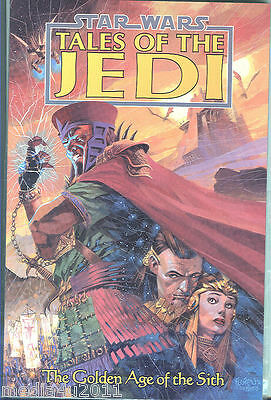 Star Wars Tales Of The Jedi Golden Age Of The Sith Rare P/b Graphic Novel New