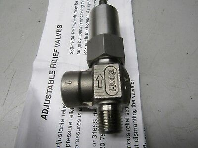 HOKE 6532L4Y Adjustable Relief Valve