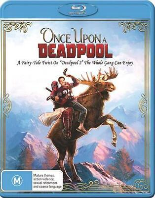 Once Upon A Deadpool - Blu Ray Region B Free Shipping!