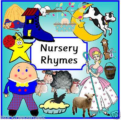 NURSERY RHYMES EYFS  Teaching resources CHILDMINDER Story / Singing sack SEN