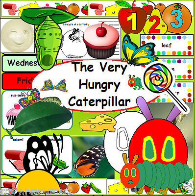 CD ROM The Very Hungry Caterpillar Minibeasts teaching resources KS1 EYFS