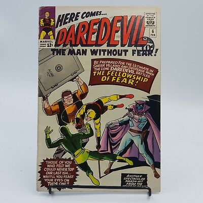 Daredevil #6 Silver Age Marvel Comics 1st Appearance of Mister Fear VG+