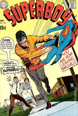 Superboy (1st Series DC) #161 1969 VG Stock Image Low Grade