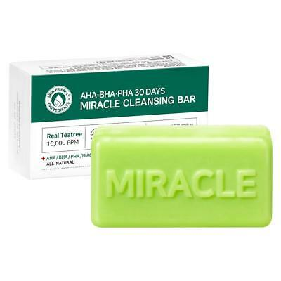 [SOME BY MI] AHA. BHA. PHA 30 Days Miracle Cleansing Bar Soap  - 106g