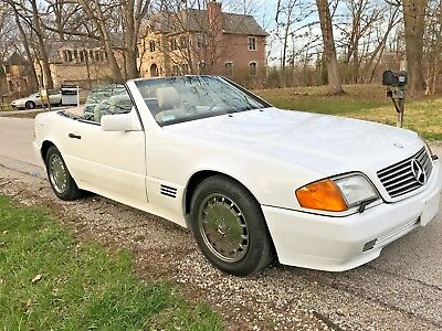 1992 Mercedes-Benz SL-Class 500SL 1992 Mercedes SL500 California Vehicle Immaculate History Amazing Condition