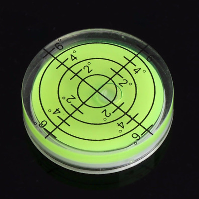 Precision Spirit Bubble Level Degree Mark Surface Round Circular Measuring Kit