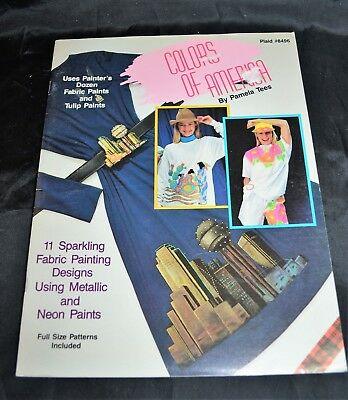 Colors of America, Clothes Fashions Patterns, Instruction, Fabric Paint & Design