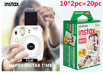 20PC--fujifilm instax mini film  fuji instant photos 7s 8 50s 90 300 sp-1/2 film