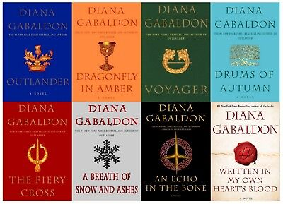 Outlander Series by Diana Gabaldon (8 Books) :PDF,EPUB Version (Send via email)