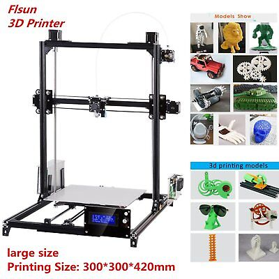 Flsun I3 3D Printer Kit Large Printing Area Double-sided Print Auto Printer SR