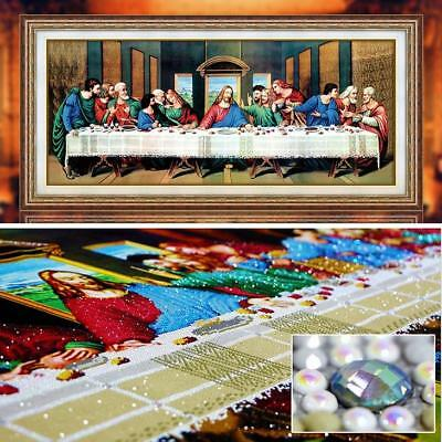 special shaped diamond painting last supper cross stitch embroidery kits Jesus