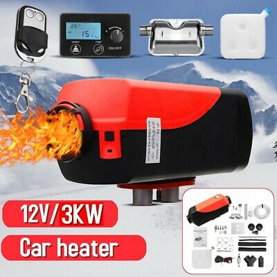 12V 3000W Air diesel Heater New LCD Monitor Remote For Trucks Boats Bus Car 3KW