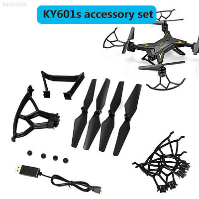 1044 Plastic Drone Spare KY601s Propeller + Landing Gear + USB Cable Protective