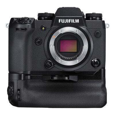 NEW FUJIFILM X-H1 MILC Camera with VPB-XH1 Vertical Power Booster Battery Grip