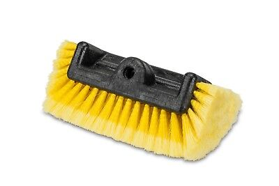 """10""""  5 SIDED Car Wash Replacement Brush Head Super Soft Heavy Duty Bristle"""