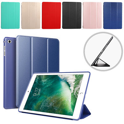 iPad 6th Generation 2018 9.7 Slim Magnetic Silicone Cover Case For Apple durable