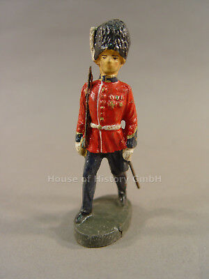 115100, Elastolin: England Offizier Cold Stream Guards Figur, Pelzmütze