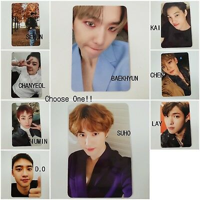 EXO 5th Don't Mess Up My Tempo selected Official photocard 1p K-POP Vivace ver.