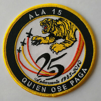 Ala 15 Squadron Spanish Air Force 25 Years Anniversary Aviation Patch