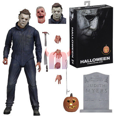 "NECA Halloween Michael Myers Ultimate 7"" Action Figure 2018 Movie Collection New"