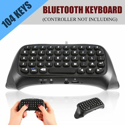 For Sony PS4 PlayStation 4 Accessory Controller Bluetooth Wireless Keyboard EA