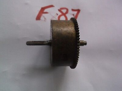 Enfield Mainspring Barrel  From An Old   Mantle Clock  Ref F87