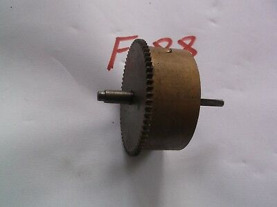 A Enfield Mainspring Barrel  From An Old   Mantle Clock  Ref F88